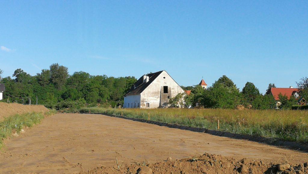 archäologische Maßnahme Hochwasserschutz