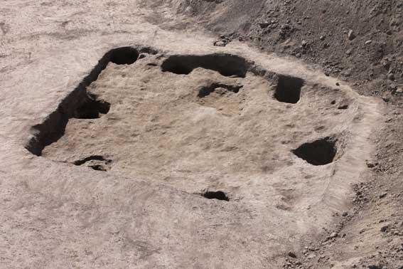 Grubenhütte aus der germanischen Kaiserzeit